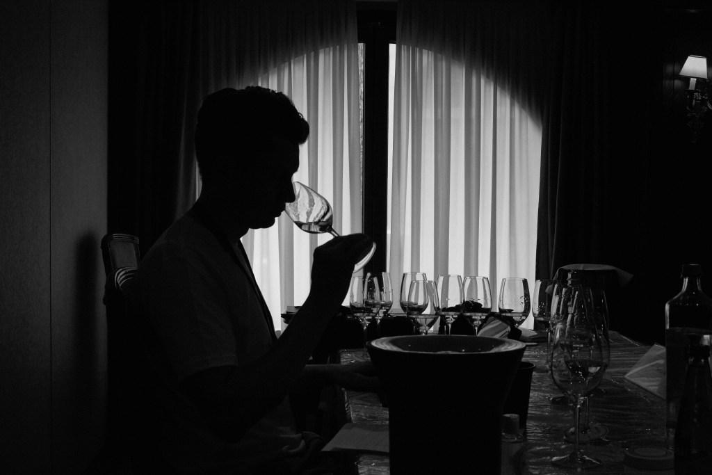 Stefan Neumann MS tasting at 50 Great Greek Wines