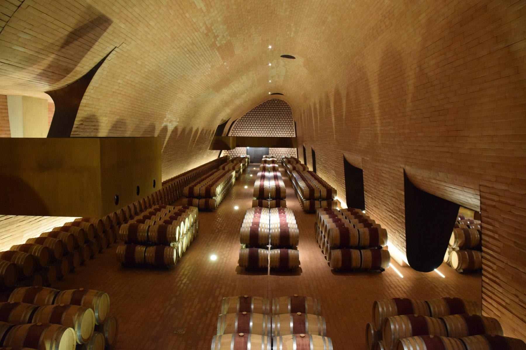 Antinori cellar in Italy